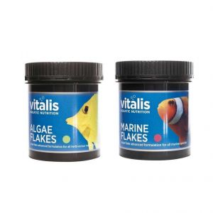 Vitalis Marine & Algae Flakes 30g Twin Bundle
