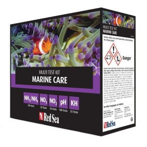 Red Sea Marine Care Multi Test Kit (NH3, NH4, NO3, PH, KH)