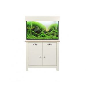 Aqua One OakStyle 145 Aquarium and Cabinet (Soft White)
