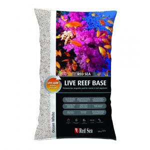 Red Sea Live Reef Base Aragonite Sand Ocean White10kg
