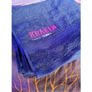 Kraken Embroidered Logo Small Towel