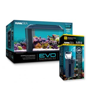 Fluval Evo 52l and PS2 Skimmer Combo