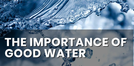 The importance of good source water